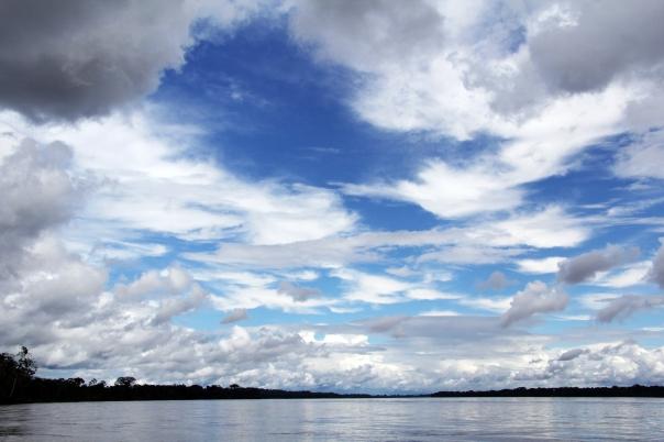 013 - 12 juni Coca; eerste blik op de Rio Napo